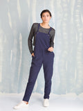 Overalls Black  - Overalls Blue for Women's - Coquelicot COQUELICOT- Here Now