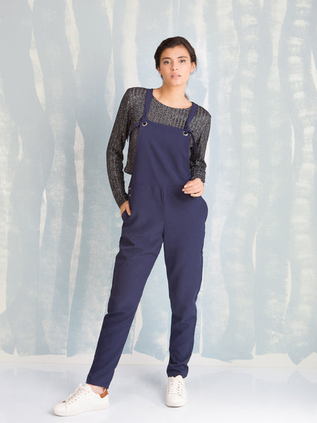Overalls Black  - Overalls Blue for Women's Here Now COQUELICOT- Here Now