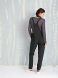 Black Overalls - Overalls for Women's - Coquelicot COQUELICOT- Here Now