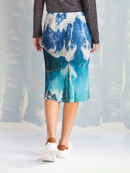 Skirt Mountains and Rivers Coquelicot COQUELICOT- Here Now