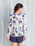 Tunic Pleated Back Here Now COQUELICOT- Here Now