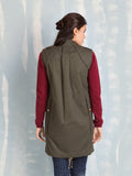 Winter Coats military Vest Fracomina Fracomina- Here Now