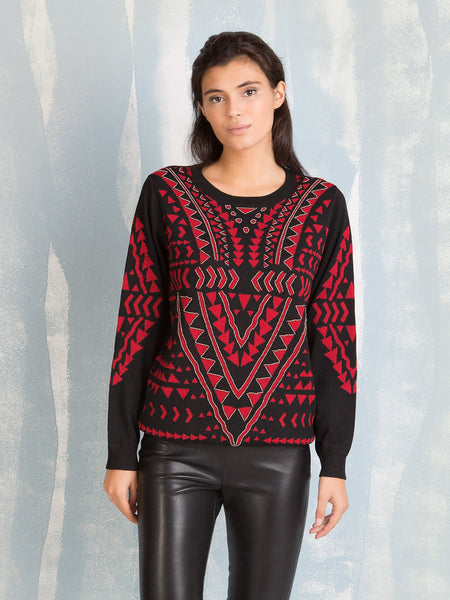 Women´s sweaters Empire Beaded DEBY DEBO DEBY DEBO- Here Now