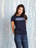Zoe Karssen Sale T Shirt BAT LOOSE FIT TEE  in  Dark Blue Zoe Karssen- Here Now