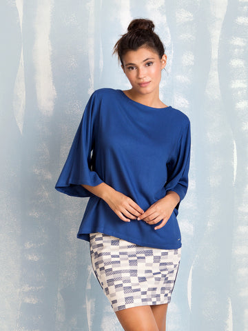 Coquelicot Blue Tunic COQUELICOT- Here Now