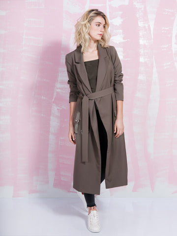 LAVISH ALICE Trench Me Khaki LAVISH ALICE- Here Now