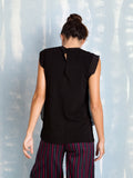 Blouse Black Fracomina Fracomina- Here Now
