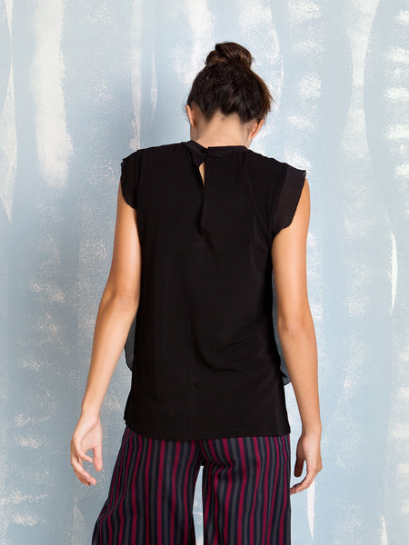 Black Blouse Fracomina Fracomina- Here Now