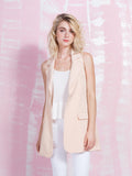 LAVISH ALICE Nude and Sleeveless Trench Coat Women LAVISH ALICE- Here Now