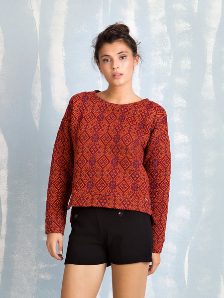 Sweat Orange Coquelicot COQUELICOT- Here Now