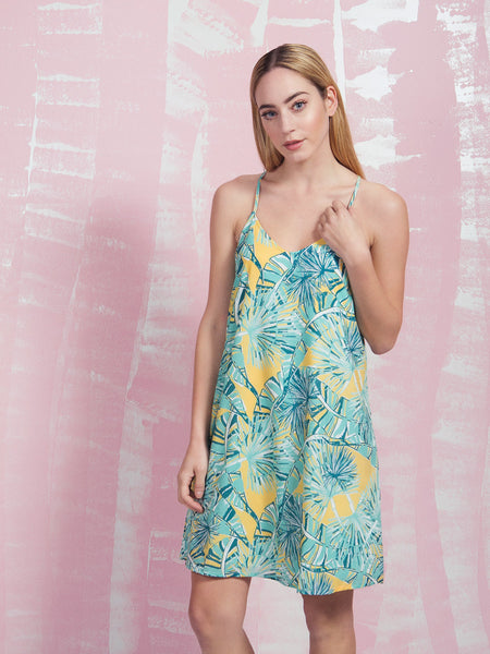 Dress Tropical Loveland Coquelicot COQUELICOT- Here Now