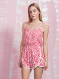 Life is a Flower Playsuit Coquelicot COQUELICOT- Here Now