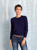 Knit Round Neck Coquelicot COQUELICOT- Here Now