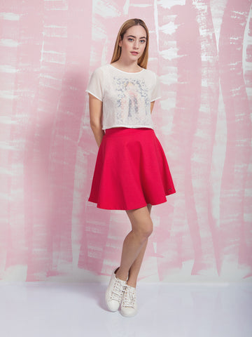COQUELICOT Away on a Summer's day Skirt COQUELICOT- Here Now