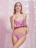 Erato Pink Aztec Frill Bottom PRETTY ME PRETTY ME- Here Now