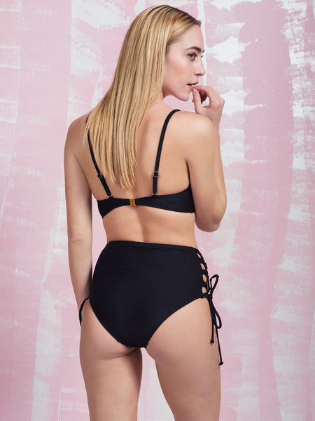 Amphitrite Black High Waist Brief PRETTY ME PRETTY ME- Here Now