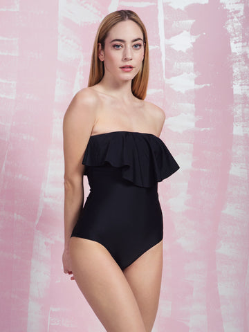 PRETTY ME Panope Black Onepiece PRETTY ME- Here Now