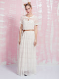 Dress Maxi White Deby Debo DEBY DEBO- Here Now