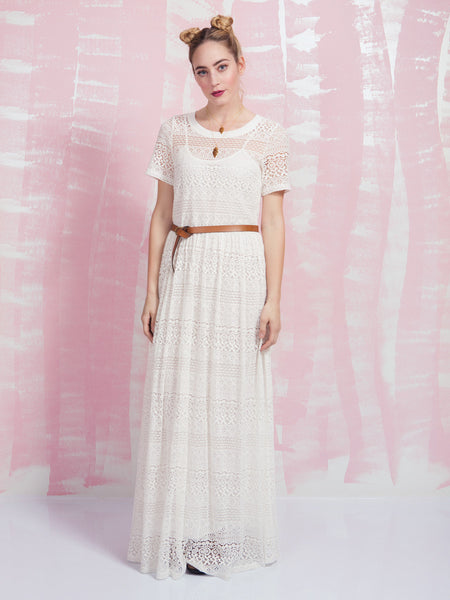 Maxi Dress White Deby Debo DEBY DEBO- Here Now