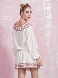 Dress Embroidery in Cotton Deby Debo DEBY DEBO- Here Now
