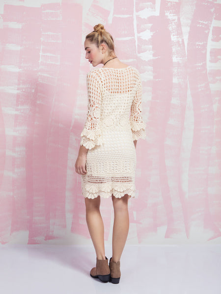 Crochet Dress DEBY DEBO- Here Now