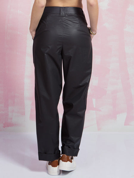 Black Trousers Tunnel visions light my way USE UNUSED- Here Now