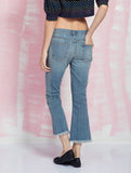 Current/Elliot Sale The cropped flip flop jeans Iconic Pieces CURRENT/ELLIOT- Here Now