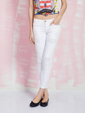 Current/Elliott Sale Jeans for Women The Stiletto White Denim Iconic Pieces CURRENT/ELLIOT- Here Now