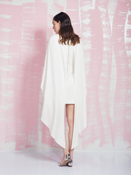 LAVISH ALICE White Maxi Cape Dress LAVISH ALICE- Here Now