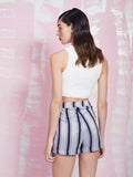 LAVISH ALICE SALE Zipped up crop top LAVISH ALICE- Here Now