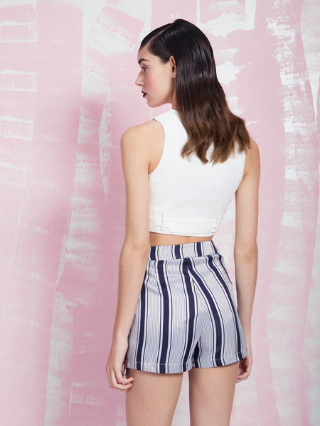 LAVISH ALICE Zipped up crop top LAVISH ALICE- Here Now