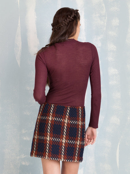 Ribbed body, perfect for winter it is the perfect way to get warm COQUELICOT- Here Now