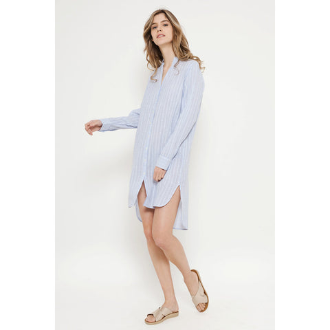 Shirt Maxi Blue for Women Deby Debo DEBY DEBO- Here Now