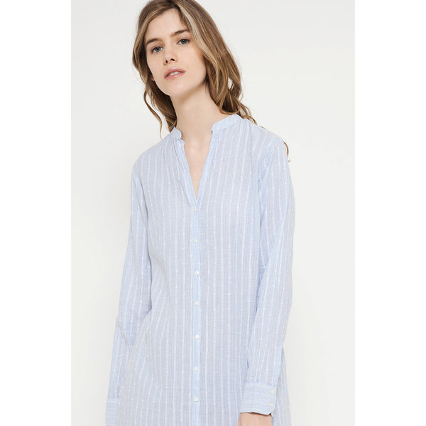 Maxi Blue Shirt Deby Debo DEBY DEBO- Here Now