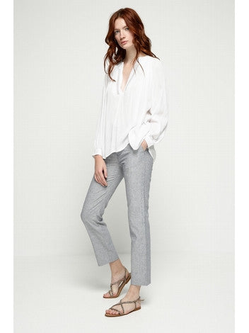 Blouse White Justine Deby Debo DEBY DEBO- Here Now
