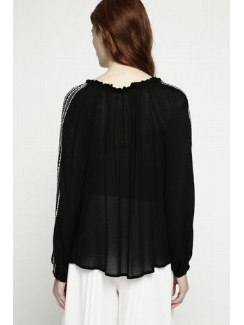 DEBY DEBO Black Tunic DEBY DEBO- Here Now