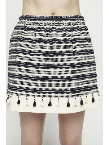 DEBY DEBO Pom pom skirt DEBY DEBO- Here Now
