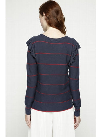 Striped Knit Deby Debo DEBY DEBO- Here Now