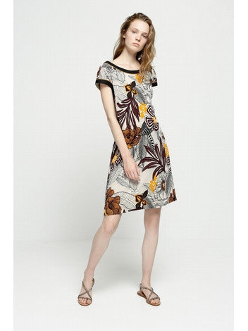 DEBY DEBO Orange Vibes Dress DEBY DEBO- Here Now