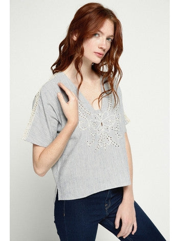 Top for Women Take Me To Greece Deby Debo DEBY DEBO- Here Now