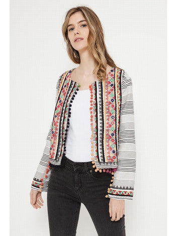 Pompom Jacket Women Deby Debo DEBY DEBO- Here Now