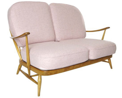 Original ercol 2 seater beech sofa reinvent furniture - Sofa herbergt s werelds ...