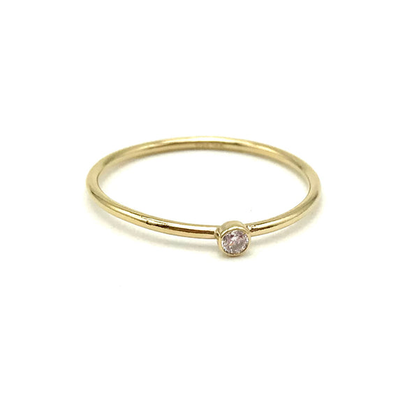Cubic Zirconia Stacking Ring