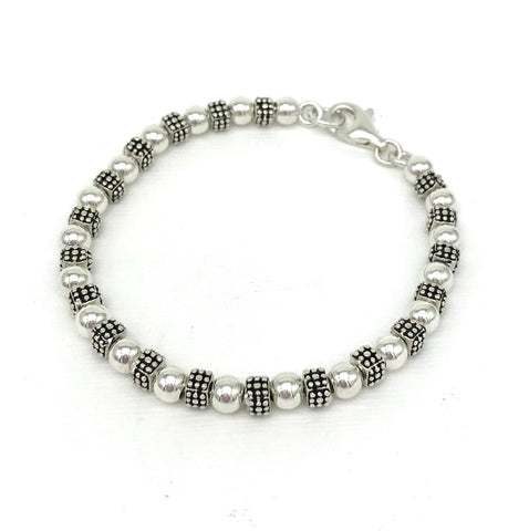 Dice SPC/5 mm Bead Bracelet
