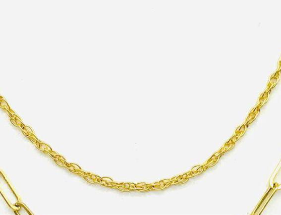14Kt Gold Filled Rope Chain