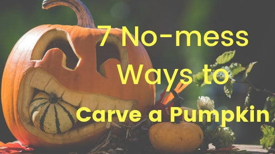 7 No-mess Alternatives to Traditional Pumpkin Carving for This Halloween
