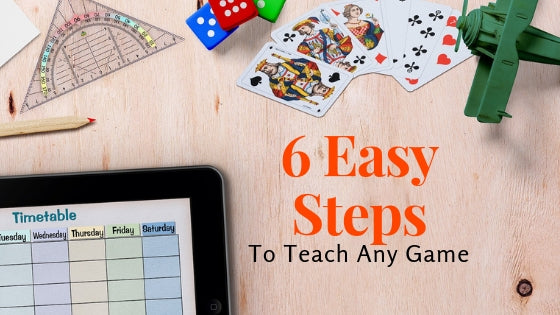 6 Easy Steps to Teach Any Game or Activity