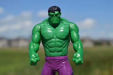Angry Hulk is frustrated by game