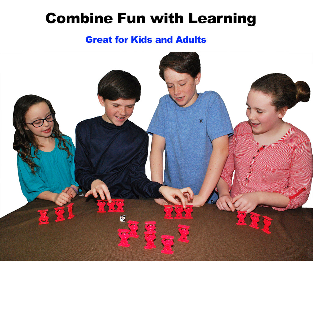 Kids Playing Monkeys Up Board Game