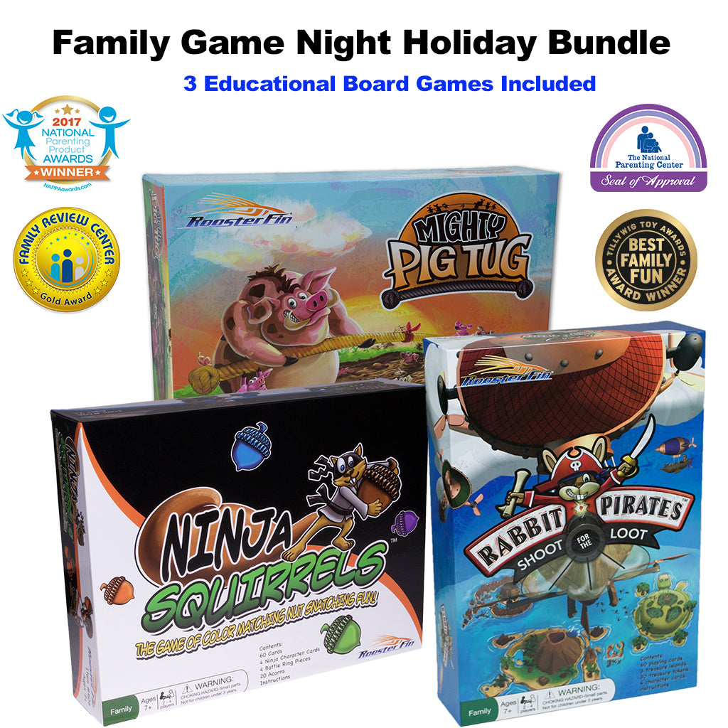 Family Game Night Holiday Bundle